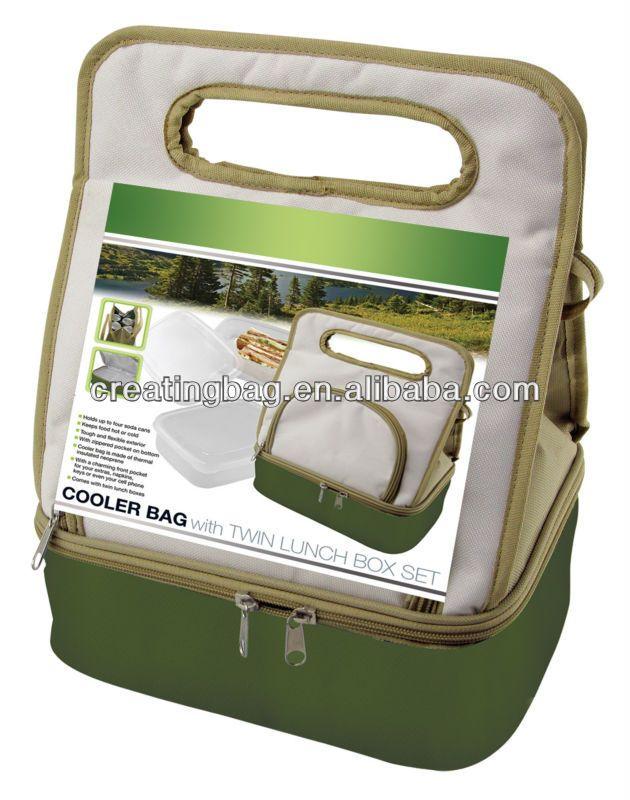 cooler bag with lunch box set buy cooler bag lunch bags. Black Bedroom Furniture Sets. Home Design Ideas