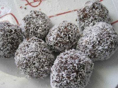 Chocolate Christmas Balls recipe