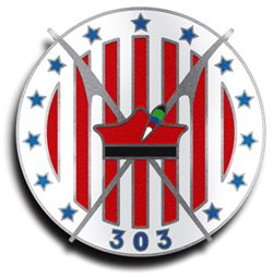 The badge of No. 303 (Polish) Fighter Squadron, Royal Air Force.