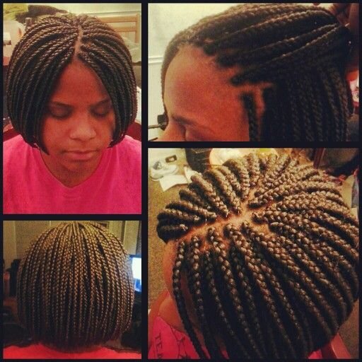 Braided Bob Braids With Extentions Pinterest Bobs