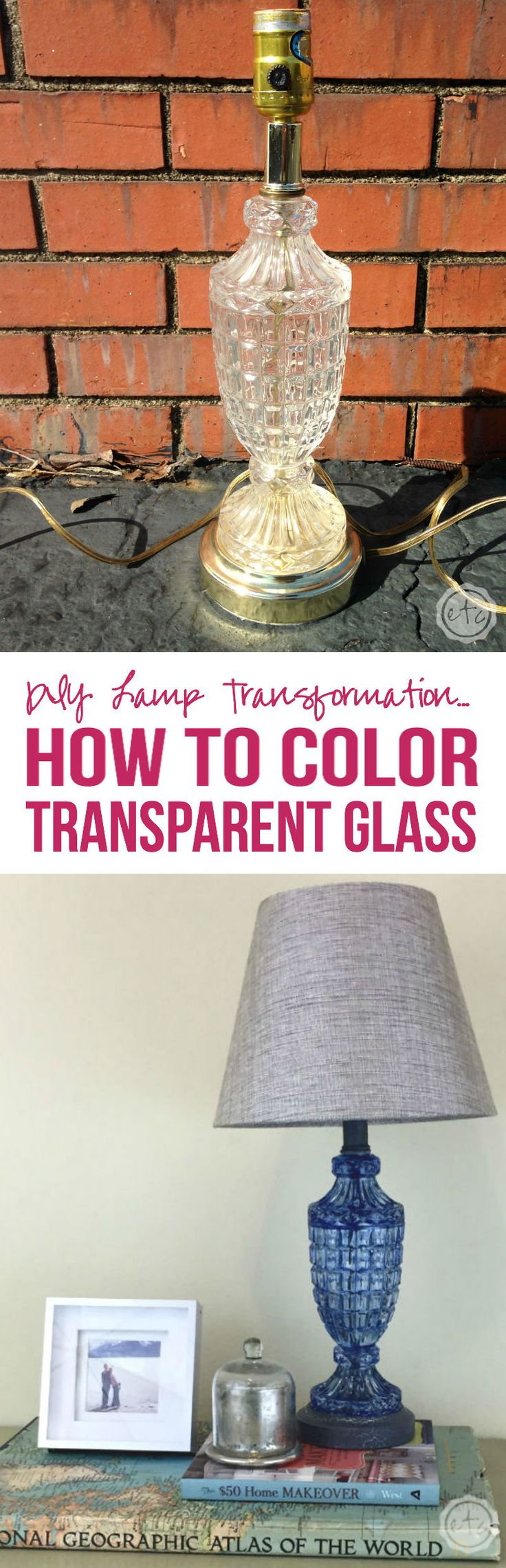 Clear glass plates for crafts - How To Color Transparent Glass