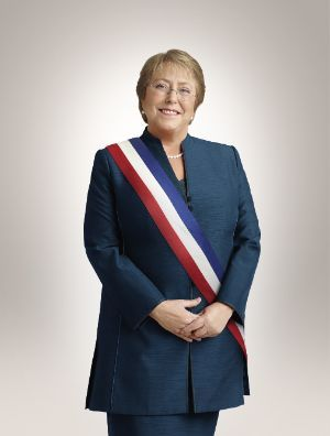 Verónica Michelle Bachelet Jeria, Trigésima sexta Presidenta de Chile 2014 - 2018