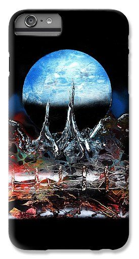 My Home IPhone 6s Plus Case Printed with Fine Art spray painting image My Home by Nandor Molnar (When you visit the Shop, change the orientation, background color and image size as you wish)