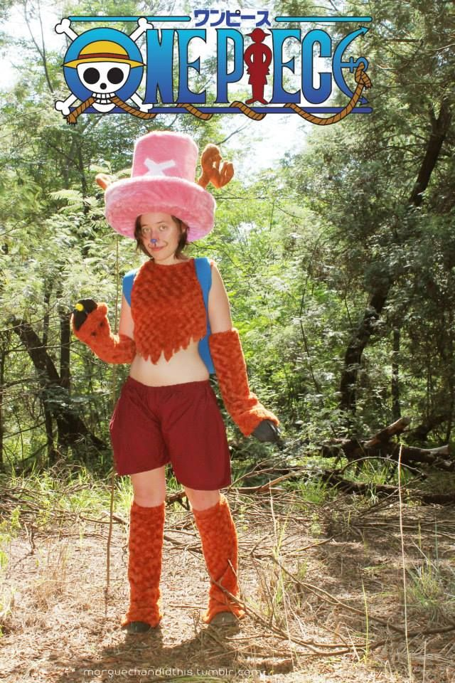 Tony Tony Chopper cosplay from One Piece  Made this as my first ever rAge cosplay at rAge 2013! I wore this again in 2014 to have a shoot with a friend of mine <3