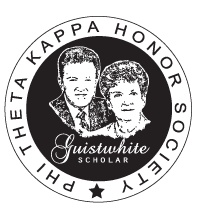 $5,000 Guistwhite Scholarship - must be a member of Phi Theta Kappa to apply. Yeah. If TCU has any chance, need me some scholarships!