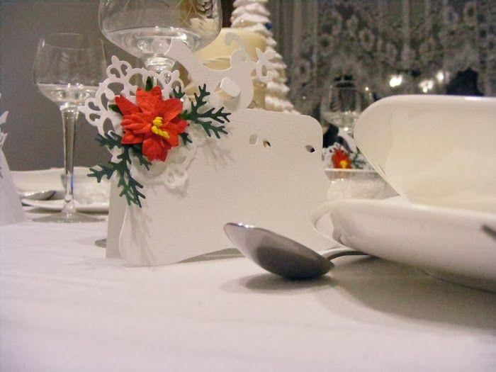 Sapimanó Kreatívblogja: Sizzix Christmas Table name cards / Karácsonyi ültetőkártyák