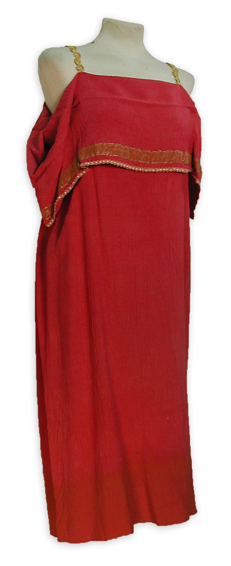 Tunica corta mujer romana