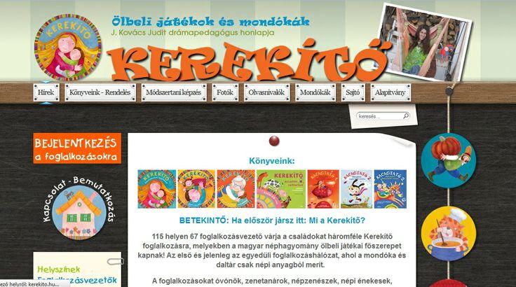 KEREKÍTŐ - J. Kovács Judit drámapedagógus honlapja - Ölbeli játékok és mondókák - Baba-mama foglalkozás - Mondóka hangtár