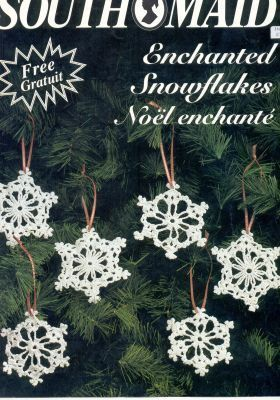 Free crochet snowflake pattern Saved under patterns, no picture.