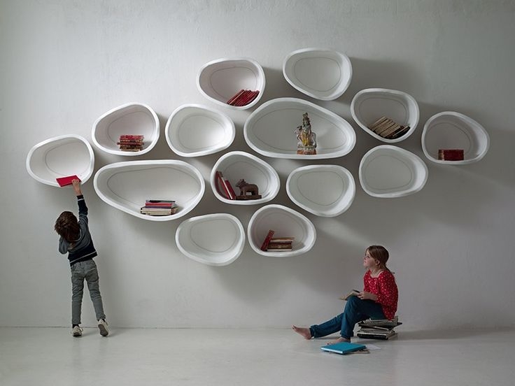 FAVO Organic Wall Shelves by imperfettolab