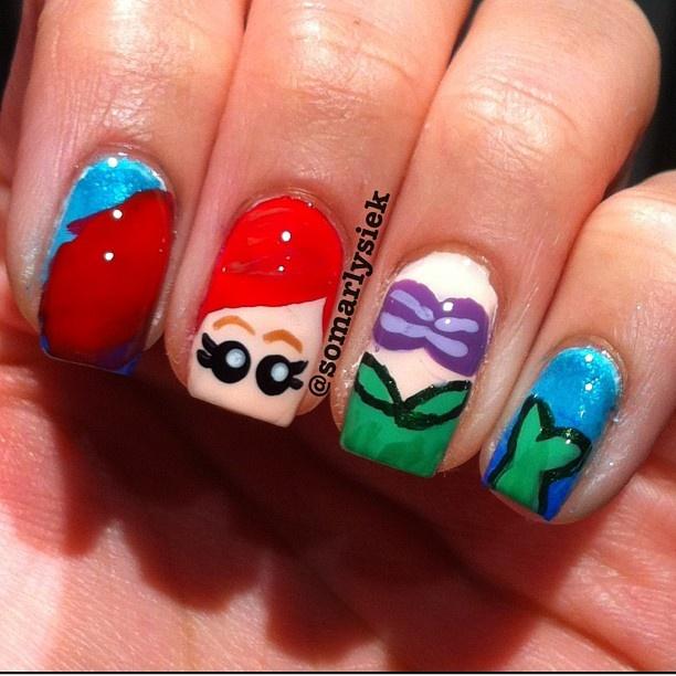 Instagram photo by  somarlysiek #nail #nails #nailart