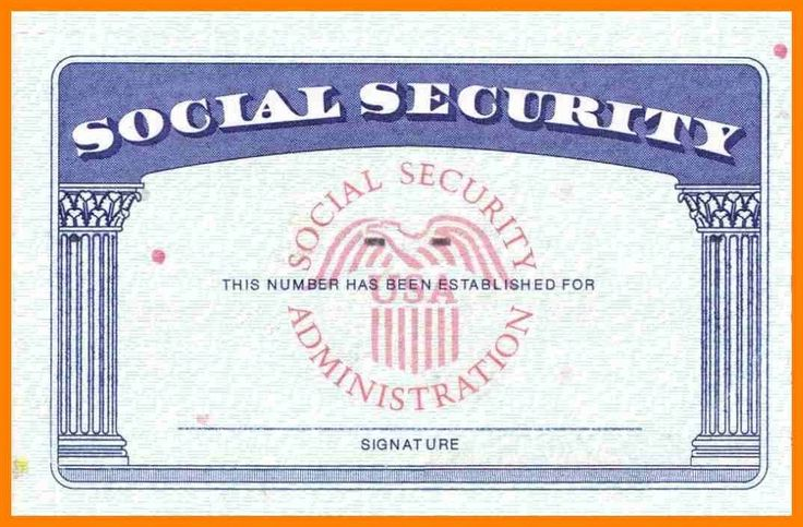 blank social security card template download Blank Social Security Card Template Download | Business Plan ... #sampleResume #FreeResume