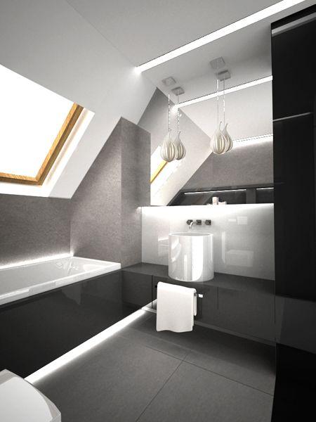 nowoczesne małe łazienki - Google Search