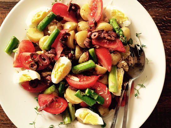 Rachelle et Coco | Salade repas niçoise