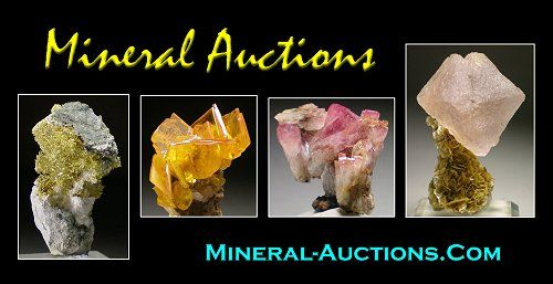Trinity Mineral Co Auction: Minerals