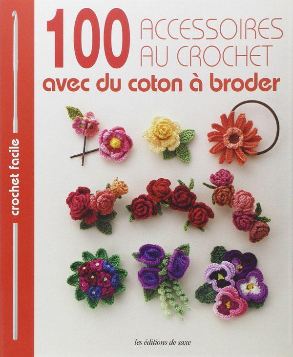 100 accessoires au crochet avec du coton à broder, 1 livre qui vous donne plein d'idées de crochet pour les bijoux et d'accessoires de mode.  http://www.magiedelalaine.com/livres-de-crochet/226-100-accessoires-au-crochet.html
