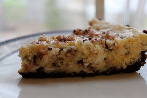 Heath Bar Cheesecake Pie: Heath Bar