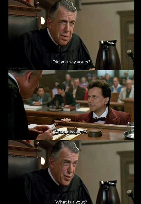 My Cousin Vinny ~ this movie makes me laugh every time !!