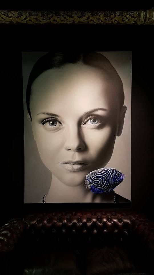 "Cömert Doğru ""Ultra Hypnosis"" 180x130cm/acrylic on canvas/2015"