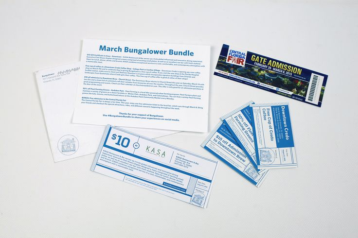 Bungalower - March 2015 #bungalower #bungalowerbundle #orlando #coupons #cratejoy
