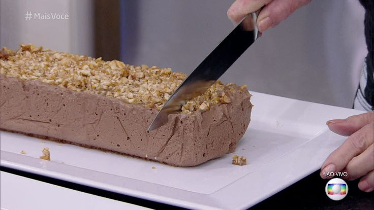 Sorvete de Chocolate | Doces e sobremesas > Receitas de Sorvete | Mais Você - Receitas Gshow