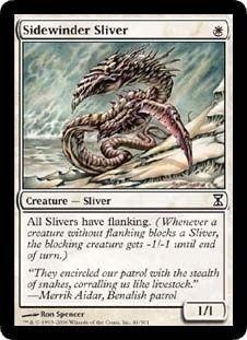 Magic The Gathering Time Spiral: Sidewinder Sliver Card Kingdom [pinder sliver deck need x4]