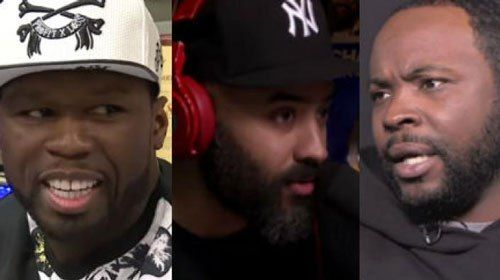 Rapper 50 Cent and Taxstone attack Ebro Darden over his lack of support for NYC artists - http://wp.me/p4MFYY-Mdf