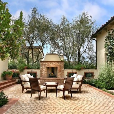 Mediterranean Outdoor Brick Bbq Design, Pictures, Remodel, Decor and Ideas - page 4