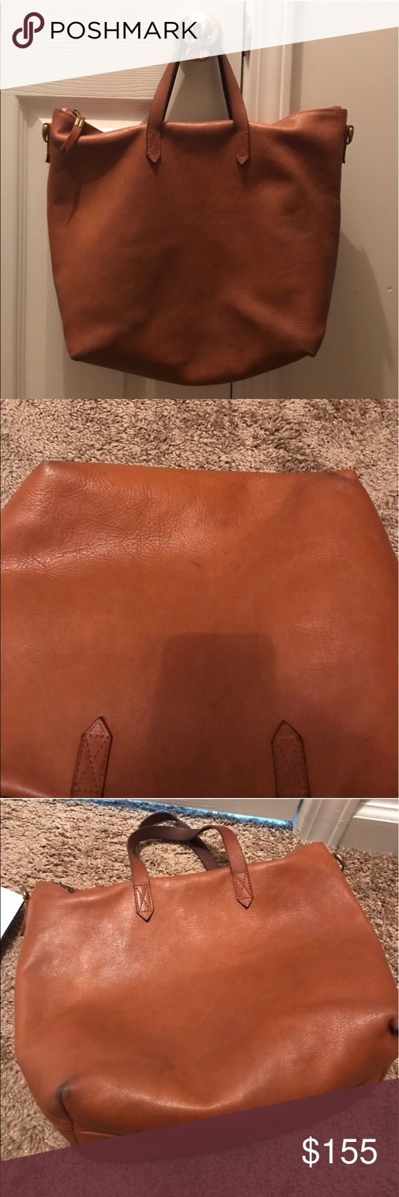 Madewell Transport Satchel in English Saddle SALE! In excellent used condition little discoloration on corners of the bag (common for this bag) normal wear on handle. No trades Madewell Bags Satchels