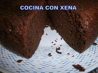 COCINA CON XENA: Bizcocho de galletas rellenas de chocolate ( Principe o marca blanca) en Olla Gm F, E y D