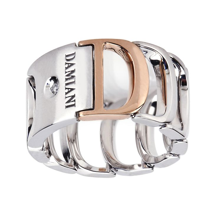 Damiani, Diamond Ring in White and Rose Gold | Maison Birks