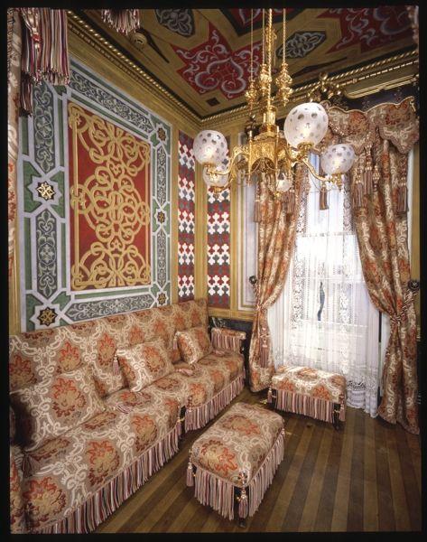 Victoria Mansion    Turkish Smoking Room , Portland Maine