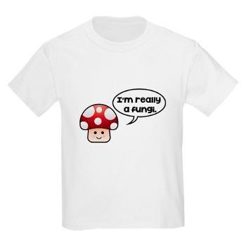 Really Fungi T-Shirt   Morning View Designs   Mushroom Pun