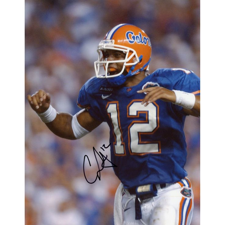 "Chris Leak Florida Gators Fanatics Authentic Autographed 8"" x 10"" Mouthpiece Photograph with NATL Champs Inscription"
