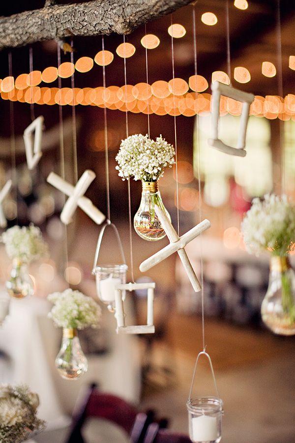 indoor barn weddings // photo by Clayton Austin via ruffledblog.com