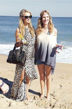 Cata Pulido and Paris Hilton