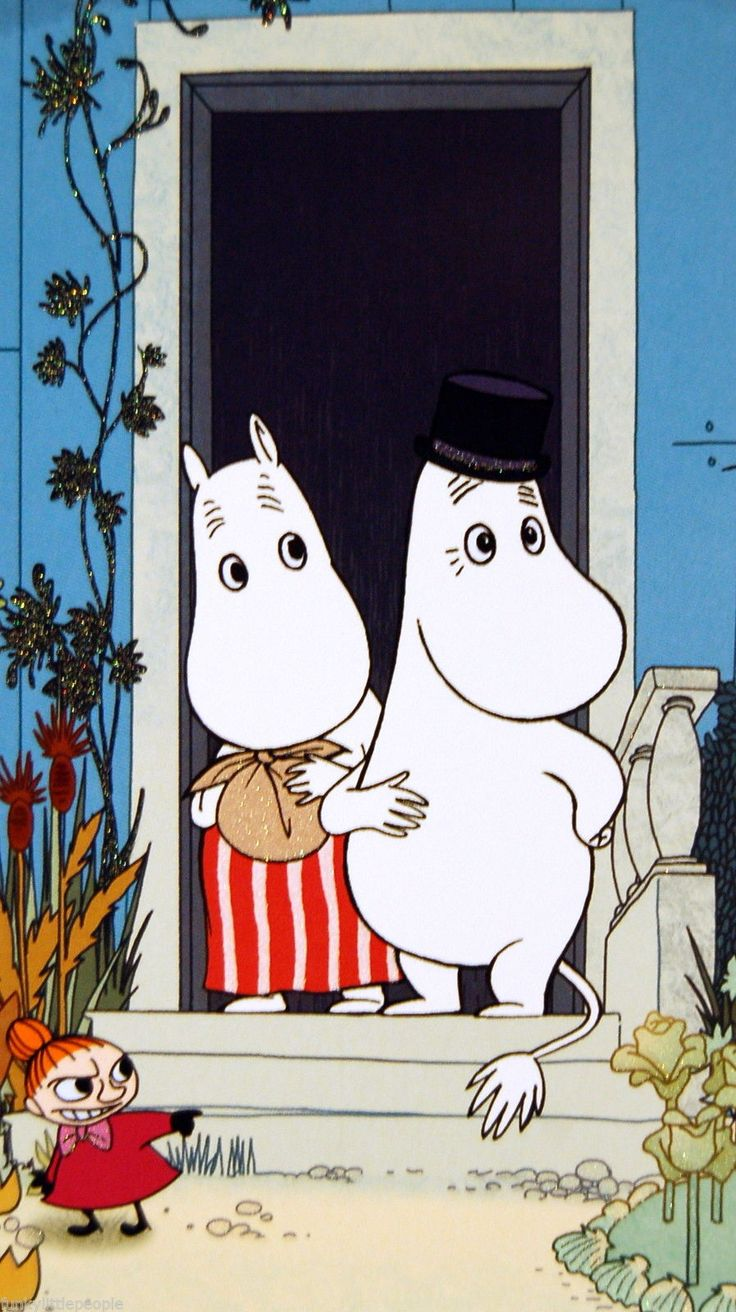 Moomins on the Riviera card - MOOMINMAMMA AND MOOMINPAPPA | £3.00 Buy it now