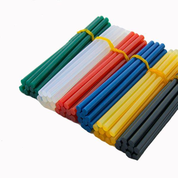 10 pcs 7mm Hot Melt Adhesive Rod Silica Gel Adhesivo de fusión de vidrio adhesivo Palo