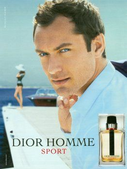 Dior Homme Sport by Christian Dior with Jude Law (2012).
