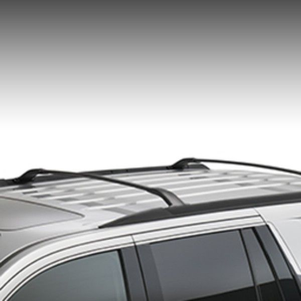 These stylish cross rails attach to the factory Roof Rack Side Rails They utilize the industry standard Tslot attachments and serve as the basemount for cargo carriers and other cargo management accessories Kit contains two cross rails Yukon Roof Rack Cross Rail Package Black Replaces 23206370