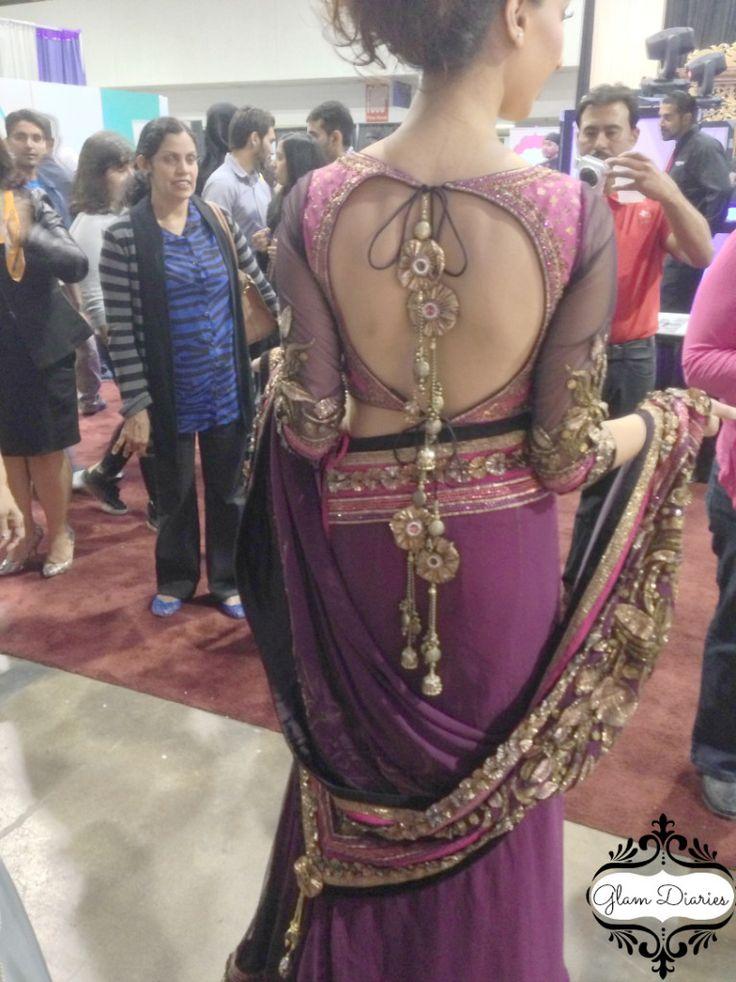 Indian Sari Lehenga  Blog: http://www.glamdiaries.com