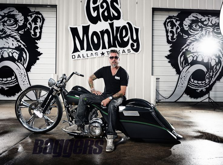 Richard Rawlings from Gas Monkey Garage is a lover of all-things custom cool, which is why he had Misfit Industries build a custom bagger to Richard's tastes. Baggers had to get the exclusive on the bike and the story behind this Harley-Davidson Custom Bagger.