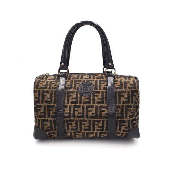 4af3085411 Authentic Vintage Fendi Boston Bag in 2019 | Fendi Vintage Bag | Bags,  Boston bag und Fendi