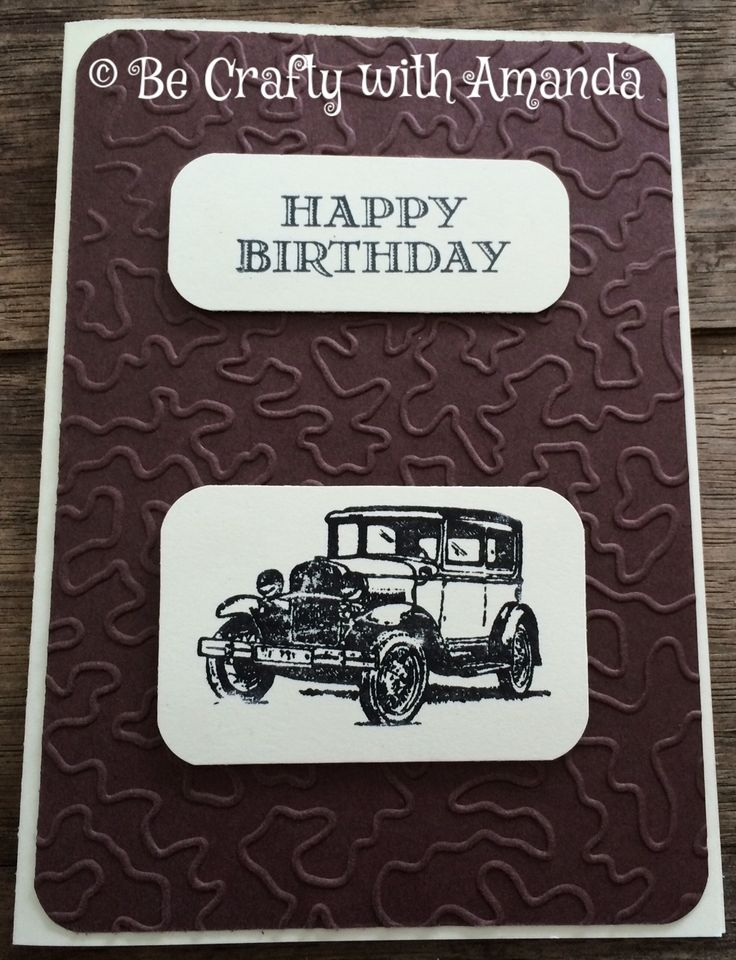 Birthday card I made for my brother-inlaw