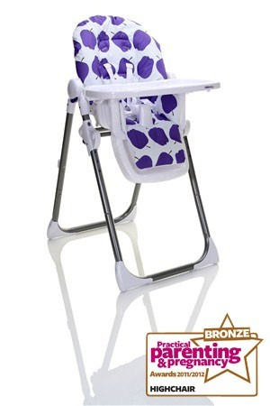 Kiddicare Wean Me - Best Highchair (Bronze)
