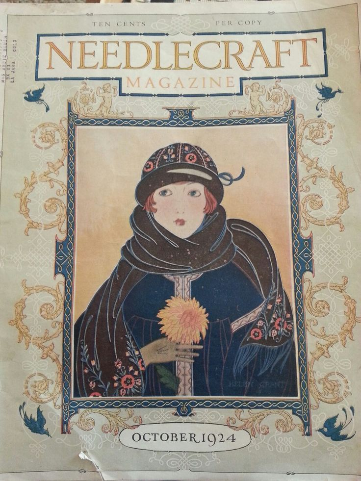 Needlecraft magazine October 1924