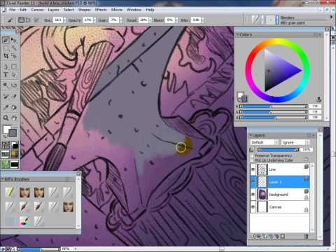 17 best images about digital drawing and painting for Draw with jazza mural