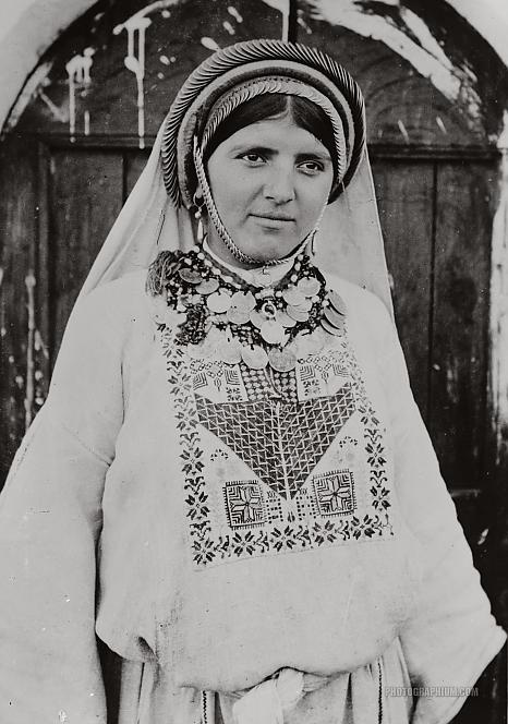 Peasant Girl and Ornaments: Palestine 1900-1920