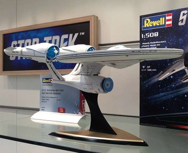 Star Trek: Into Darkness Spawns 1:500 Scale Enterprise Model