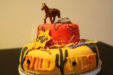 tarta cumpleaños vaquero